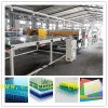 Flexible Connection Extruder PC/PP/PE Hollow Sheet/ Wood Plastic Sheet Extrusion Line