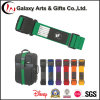 Custom Design Logo Polyester Luggage Strap with Tag