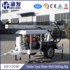 Hf120W Trailer Hydraulic Portable Water Well Drilling Rig