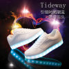 Brogue Style Spring Yeezy Shoes Adult Lighting Shoes LED Shoes
