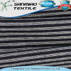 180GSM Soft Striped Single Jersey Knitting Knitted Denim Fabric for T-Shirt