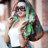 Digital Printed Silk Shawl (12-BR110303-1)
