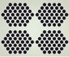 3mm Roud Hole Perforated Metal Sheet for Filter ISO9001