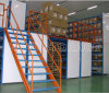 High Capacity Storage Mezzanine Racking