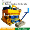 Egg Laying Hollow Concrete Block Machine Qtm6-25 (DONGYUE BRAND)