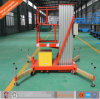 Aerial Lift Electric Aluminium Work Platform Single Mast