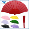 Plastic Blank Hand Fan Custom Fold up Fan for Promotion