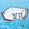 PVC Square Rainwater System