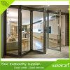 Interior/Exterior Aluminiun Casement Folding Patio Doors with Glass