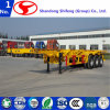 40FT 3 Axles Skeleton Container Semi Trailer for Sale