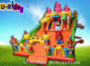 Inflatable Fun City for Children Playing