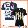 Hot Sale Black Comfortable Digital Printing Man T Shirt