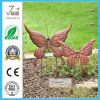 Set of 2 Metal Butterfly Garden Decoratioin