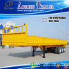 50tons Bulk Cargo Transport Flatbed Semi Trailer for Sale