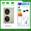France -25c Winter Floor Houe Heating 100~350sq 12kw/19kw/35kw Auto-Defrost Split Evi Air to Water Heat Pump Noise Reduction