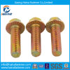 Titanium /Yellow Zinc Plated Hex Flange Bolt
