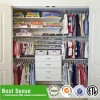 Simple Design Flat Pack Wooden Wardrobe