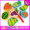 2015 Funny Play Kids Wooden Cutting Fruits Toys, Pretend Cut Fruits Education Children Toy, Hot Selling Cutting Fruits Toy W10b126