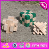 Wood Intelligence Game, Irregular Figures Intelligence Game, Wooden Intelligence Toy. Preschool Wood Intelligence Toy W11c021