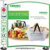 Single Handle Plastic Shopping Baskets