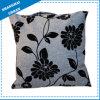 Grey Petal Linen Imitation Decorative Pillow Cushion