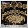 2017 Outdoor Mall Arch Structure Design LED Light Christmas Ball Light