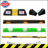 Perfect Road Safety Rubber Parking Bumpers with Reflective Tapes