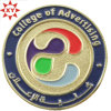 Custom Metal Round Gold Challenge Coin for Souvenir