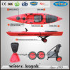 New Single Sit on Top Leisure Time Fishing Kayak Canoe