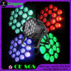 Indoor 18X18W RGBWA+UV DMX Stage Lighting LED PAR Lamp