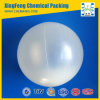 Polypropylene Hollow Floatation Balls Plastic Random Packing