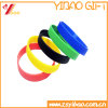 Wholesale No Logo Colorful Silicon Wristband and Rubber Bracelet Customed Logo Jewelry (YB-HD-179)