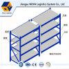 Q235B Steel Long Span Shelving Rack with Steel Panel