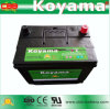 External Storage Battery N50zmf-12V60ah Car Battery Maintenance Free