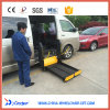 Electric and Hydraulic Scissor Wheelchair Lift for Disabled