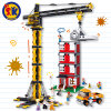 Tower Crane Building Blocks Toy for Kids