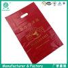 Full Red Color Printing Die-Cut Shopping Bag