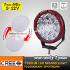 12V 24V Multi Voltage 7inch Round Waterproof IP68 90W CREE LED Driving Light for 4X4, off Road Car Use