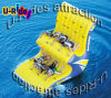 Double Line Inflatable Water Totter Game Water Rocking