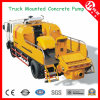 40m3/H-120m3/H Diesel Truck Mounted Concrete Pumps for Sale