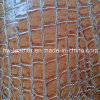 Croco Design PVC Leather for Upholstery Furniture Hw-844