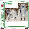 European Style Hand Supermarket Store Metal Shopping Trolley Cart