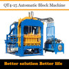 Automatic Solid and Paver Block Machine Qt4-15 Dongyue Machinery Group