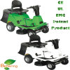 4 Adjustable Cutting Height Electric Ride-on Lawn Mower with CE, UL, EMC, Us Certificate