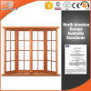 High Quality Solid Wood Bay Bow Window in China