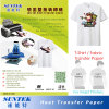 Hot Tear Light Colour Heat Transfer Printing Paper for Tshirt