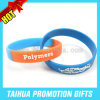 Embossed Cross Silicone Bracelet Epoxy Wristband Rubber (TH-08222)