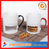 Mug with Cookie Holder / Biscuit Cup