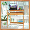 Bamboo Folding Computer Desk Table for Office Furniture