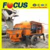 60-80m3/H Trailer Mounted Portable Concrete Pump for Sale